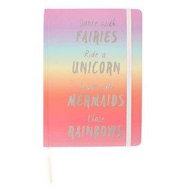 Jones Home & Gift notitieboek A5 - regenboog