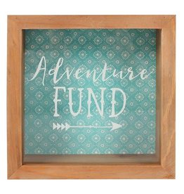 Jones Home & Gift spaarpot - boho bandit adventure fund