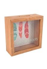 Jones Home & Gift moneybox - boho bandit hopes and dreams