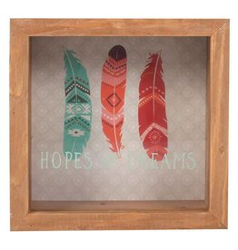 Jones Home & Gift spaarpot - boho bandit hopes and dreams
