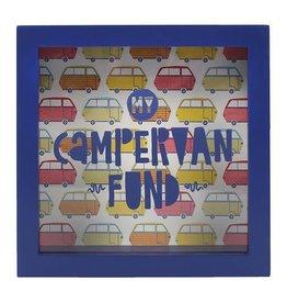 Jones Home & Gift spaarpot - campervan fund