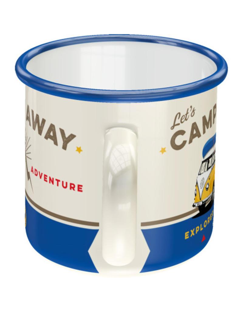 Nostalgic Art enamel mug - camp away