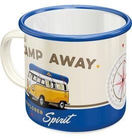Nostalgic Art enamel mug - camp away (4)