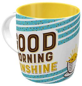 Nostalgic Art mug - good morning sunshine
