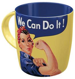 Nostalgic Art mug - we can do it!
