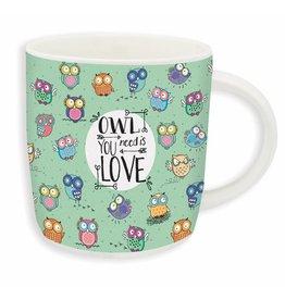Legami mug - owls