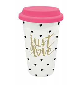 Legami take away mug - just love