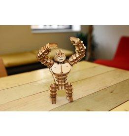 3D wooden puzzle - gorilla