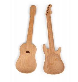 Kikkerland guitars spoons