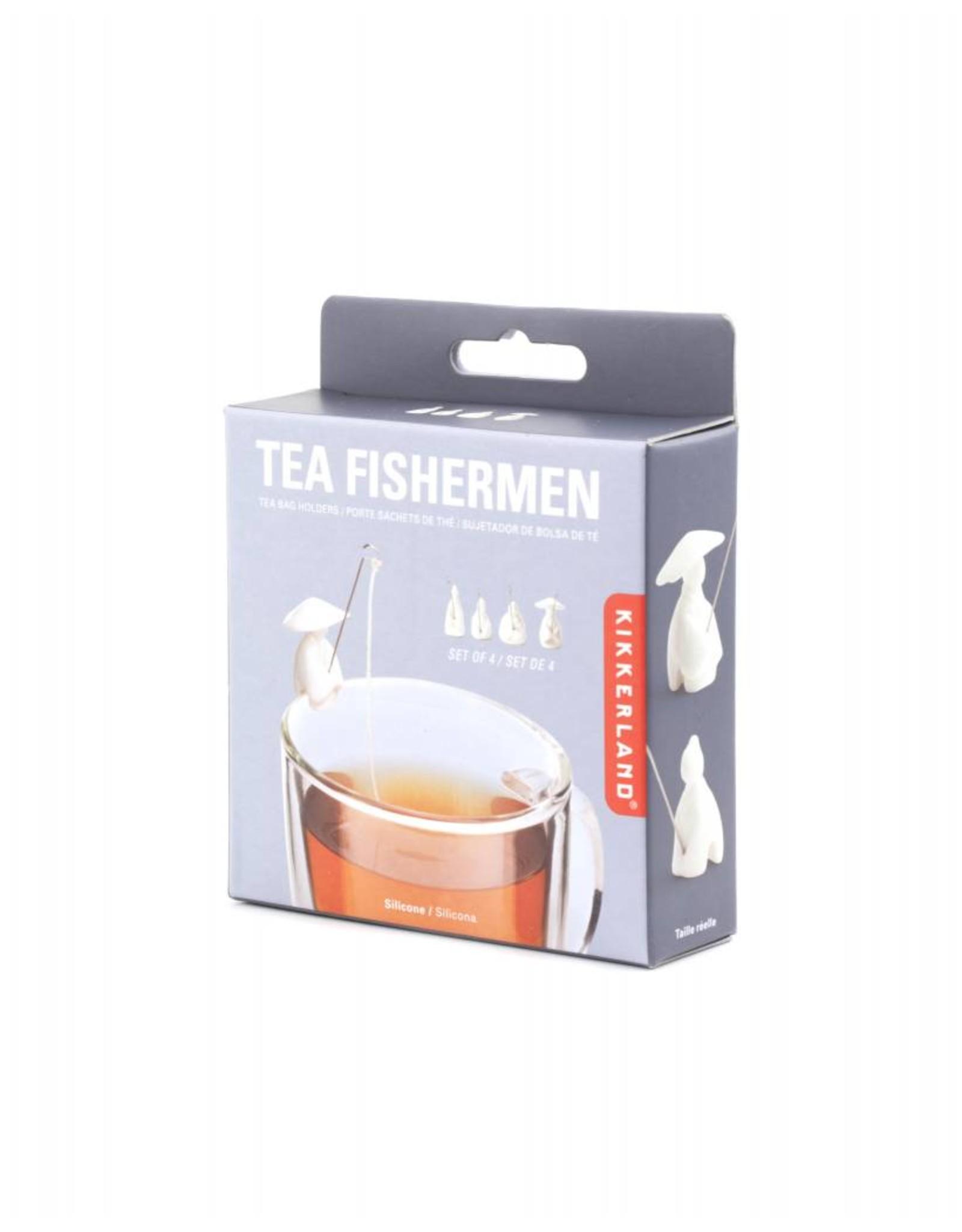 tea bag holder - fishermen
