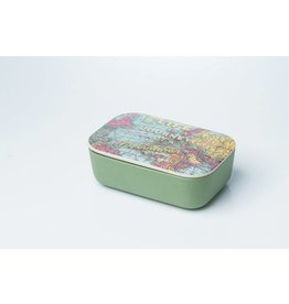 Chic Mic lunchbox - map (large)