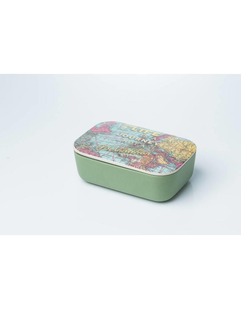 Chic Mic lunchbox classic - map (large)