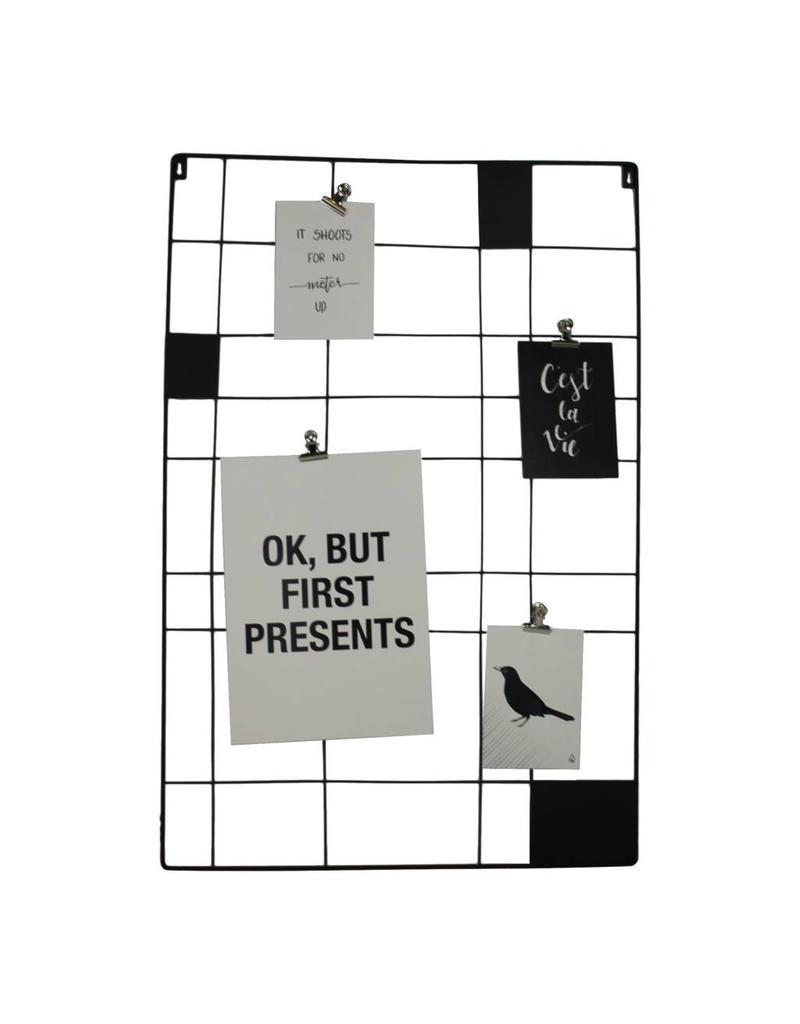 HouseVitamin memo rack (black)