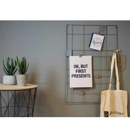 HouseVitamin memo rack (grey)