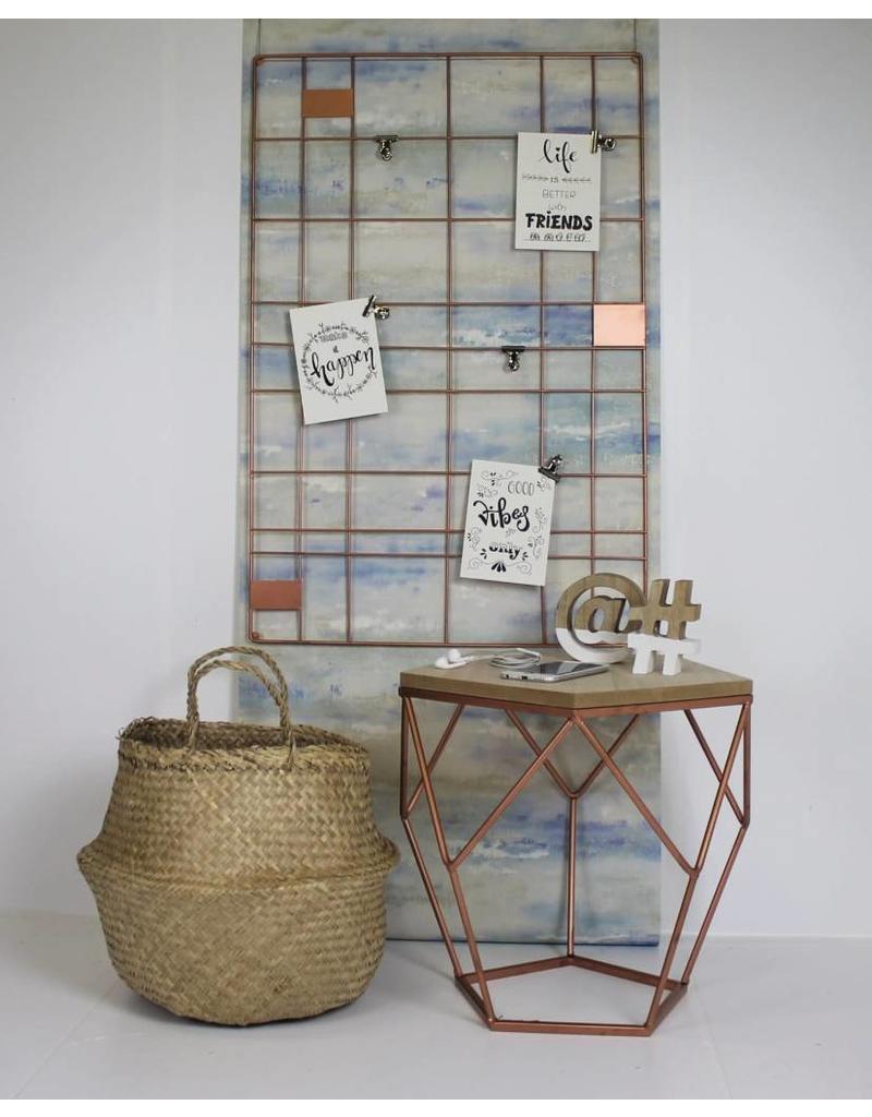 HouseVitamin memo rack (copper)