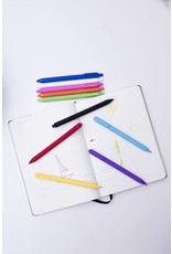 10 gel pens in rainbow colours