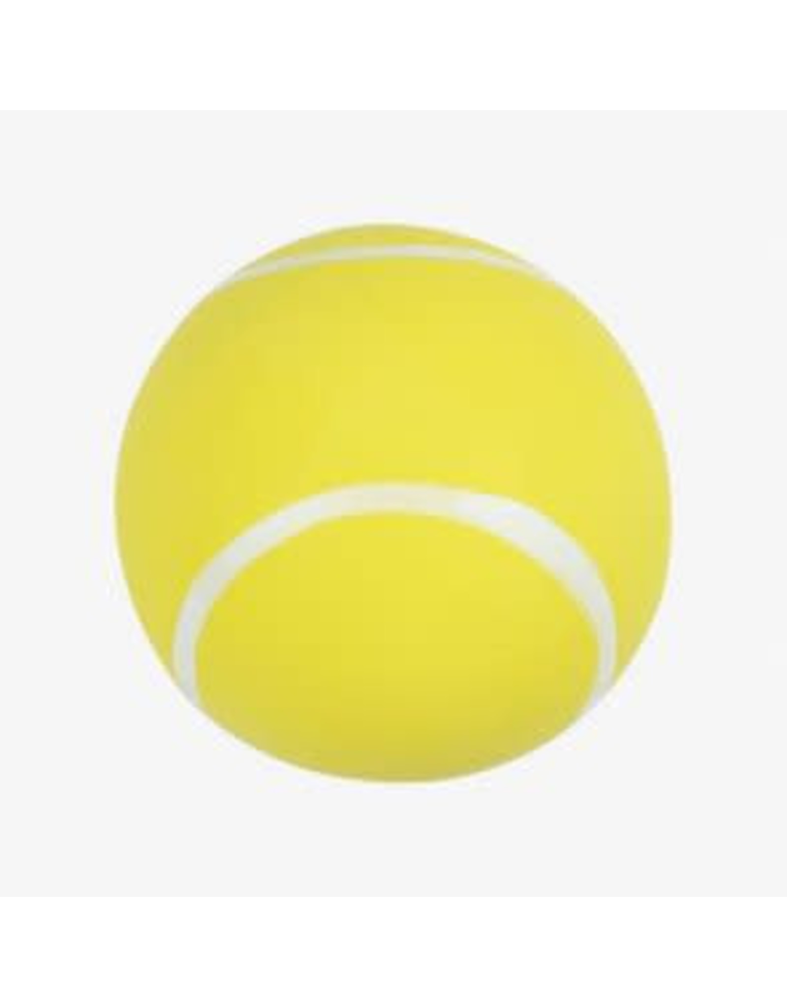 stress ball in the shape of a tennis ball
