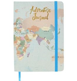 Jones Home & Gift notitieboek A5 - adventure journal