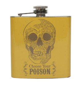Jones Home & Gift heupfles - choose your poison
