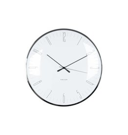 Karlsson wall clock - dragonfly (white)