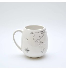 Trouvaille colour in mug - world
