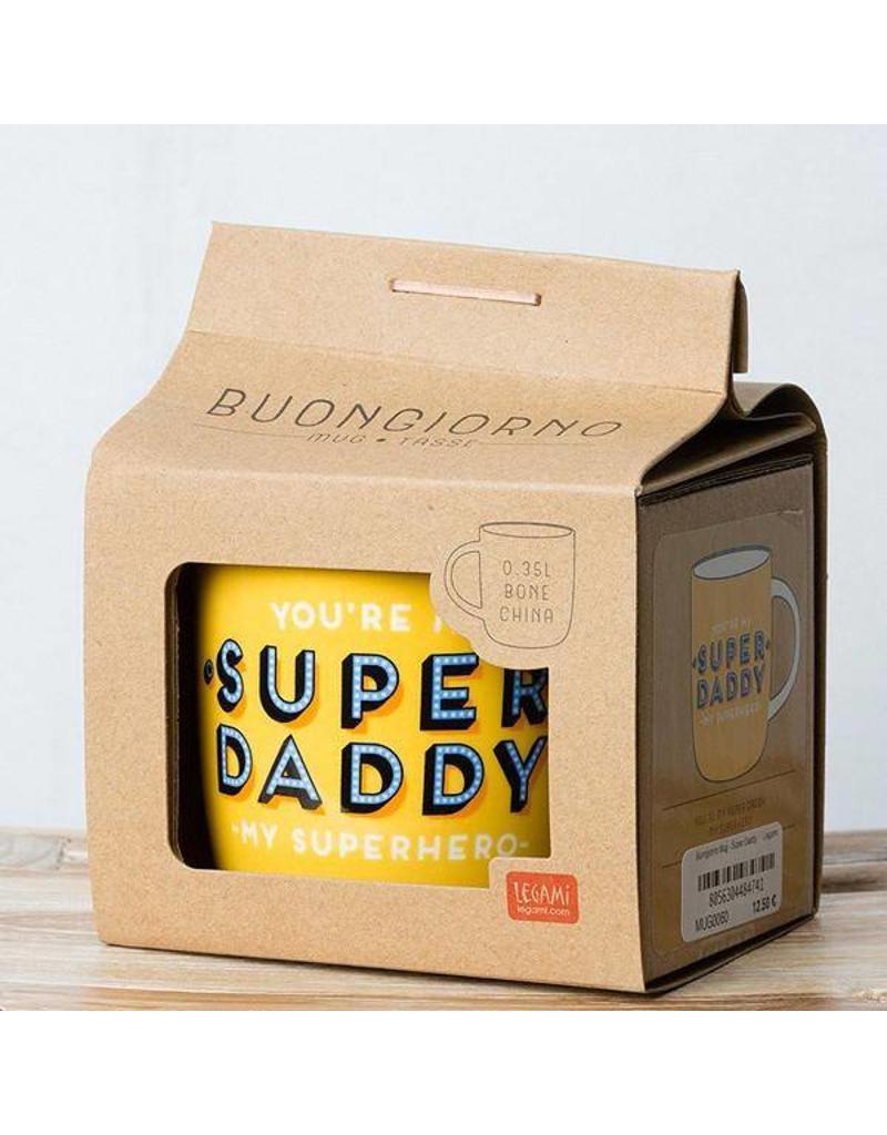 Legami mug - super daddy