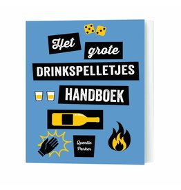 Lantaarn boek - het grote drinkspelletjes handboek