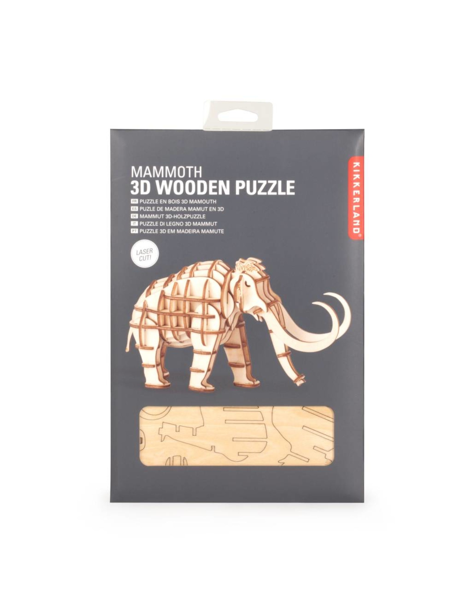 3D houten puzzel - mammoet