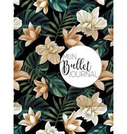 Mus bullet journal - black flower