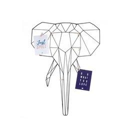 memo rack - elephant