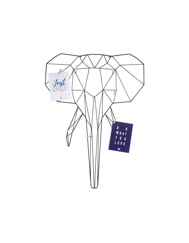 Present Time memo rack - elephant