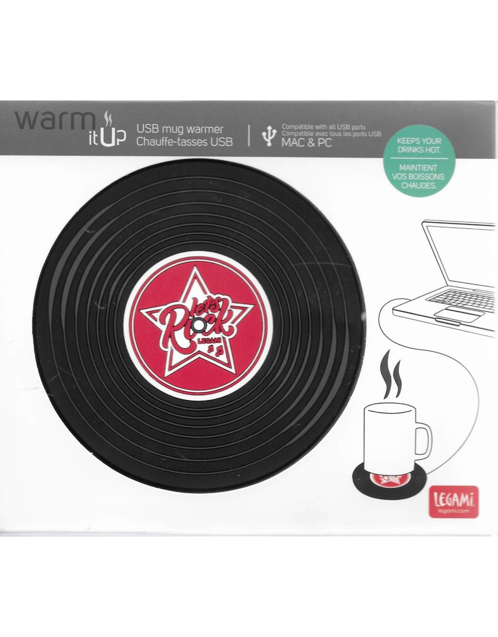 mug warmer - vinyl