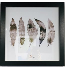 Pro Art scandic art - 5 feathers