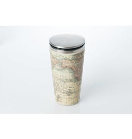 Chic Mic travel mug deluxe - antique map