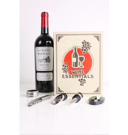Kikkerland book - wine kit - large