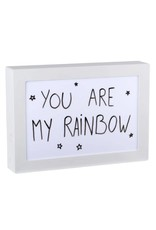 Neoly lightbox A4 - message (double side)
