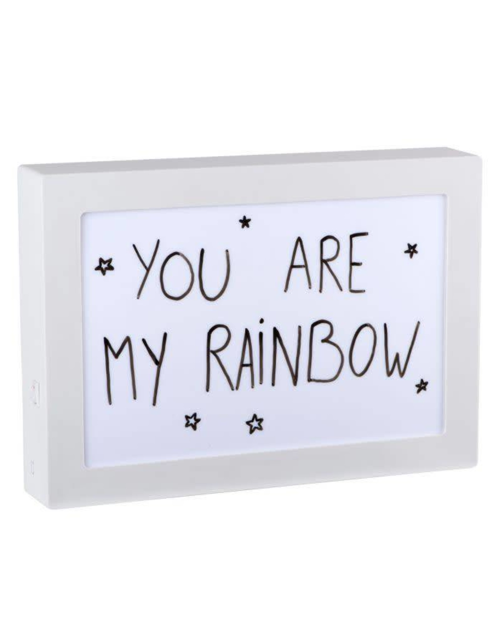 lightbox A4 - message (double side)