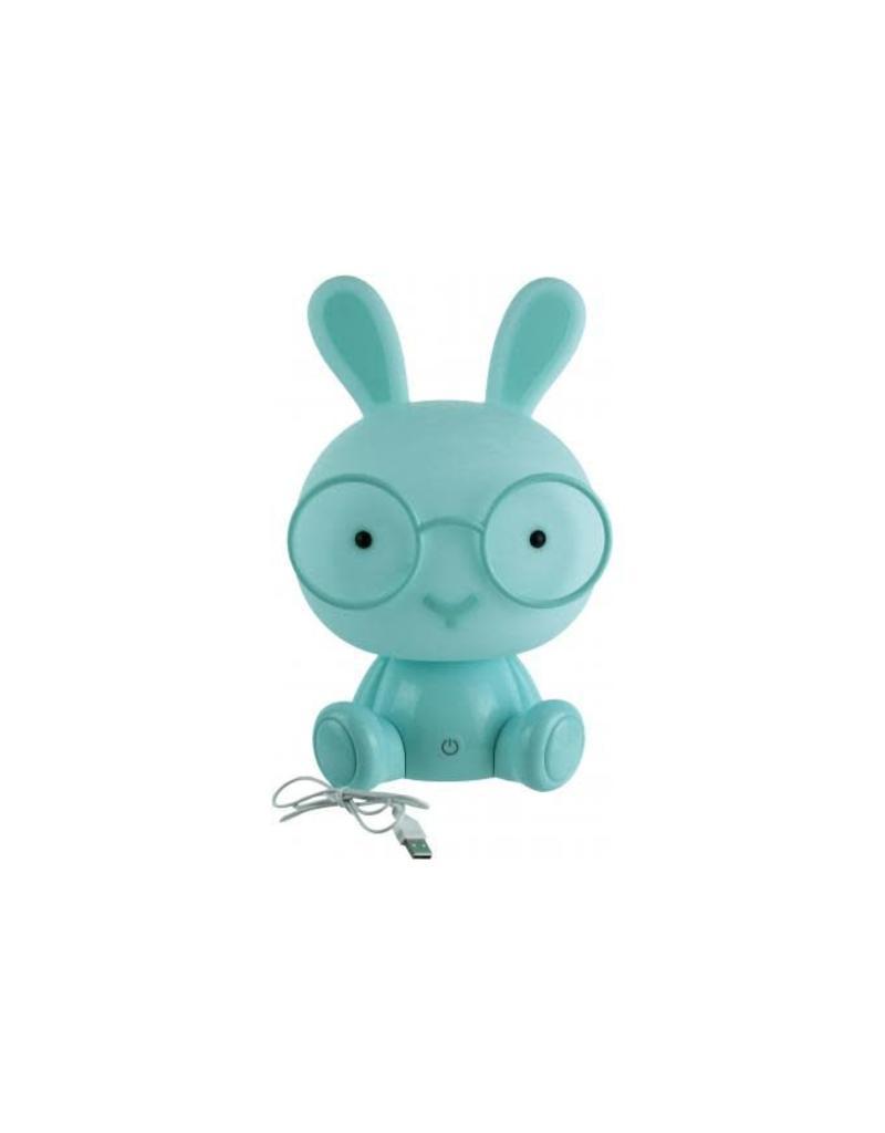 Le Studio night light - rabbit (blue)