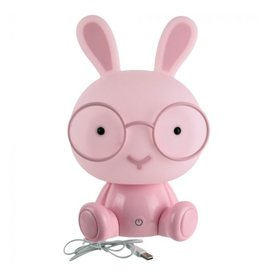 night light - rabbit (pink)