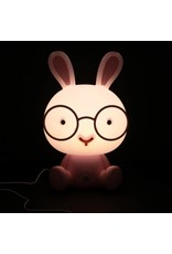 night light in the shape of a rabbit (pink)