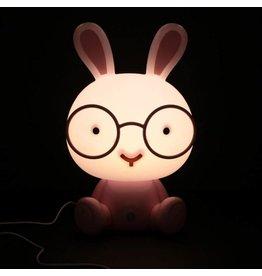Le Studio nachtlampje - konijn (roze)