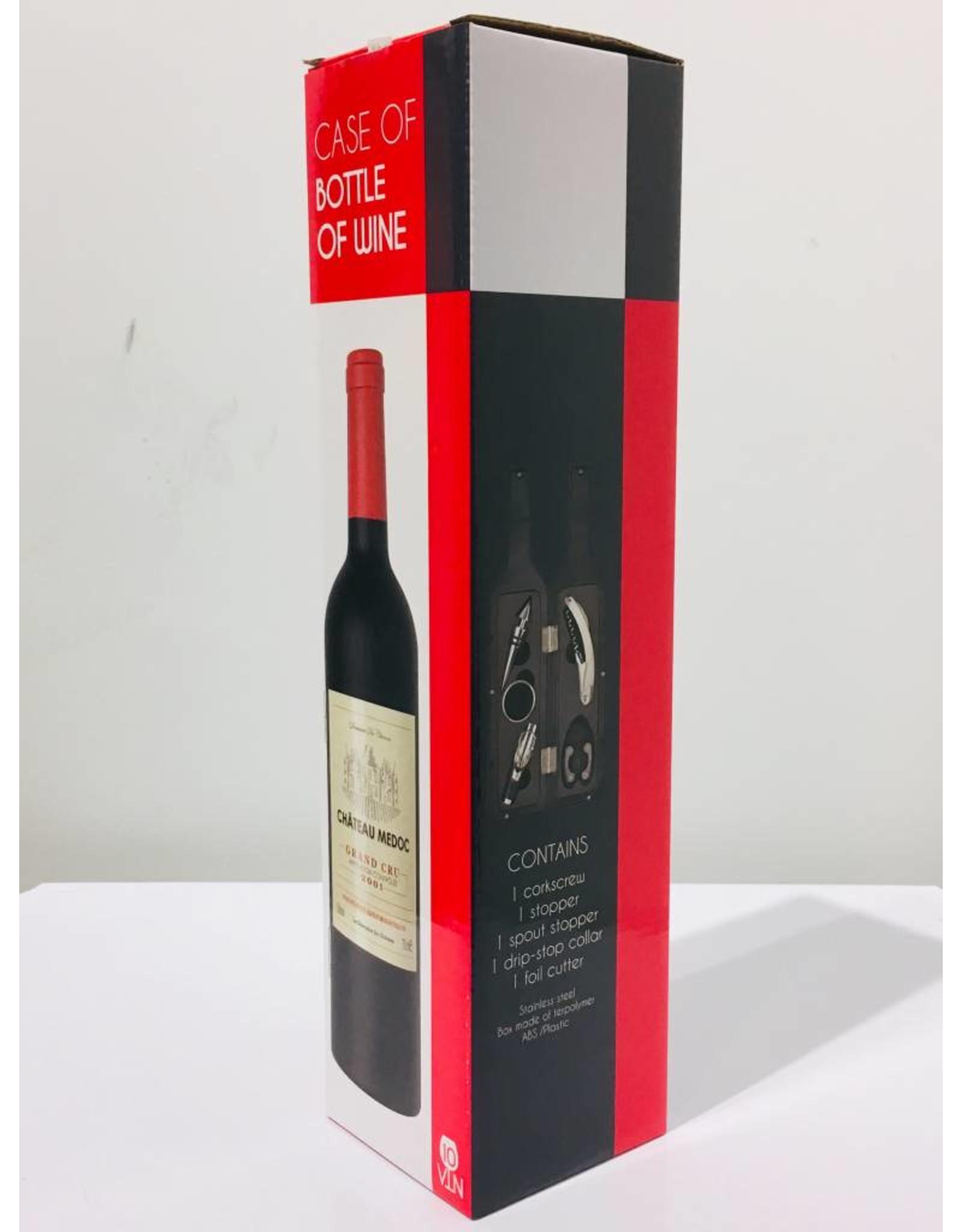 wine kit in the shape of a wine bottle (large)