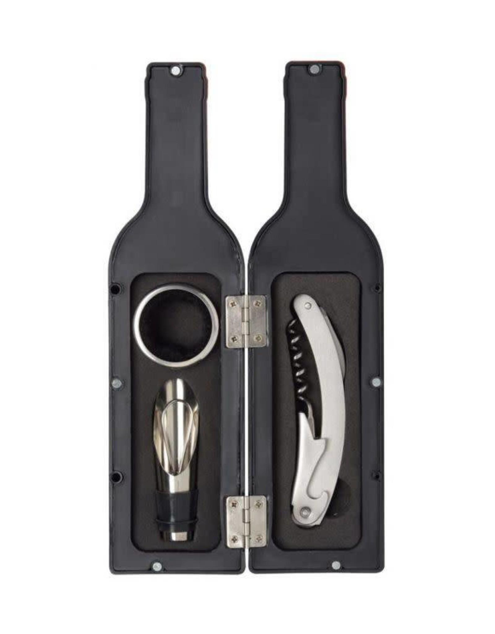 wine kit in the shape of a wine bottle (small)