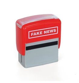 Bubblegum stempel - fake news