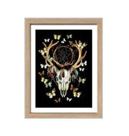 Pro Art scandic art - deer skull
