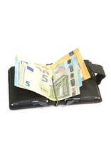 Figuretta card protector - leather double (black)
