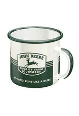 enamel mug - john deere