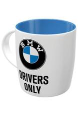 Nostalgic Art mug - BMW drivers only