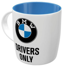 Nostalgic Art mok - BMW drivers only