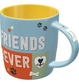 Nostalgic Art mug - friends forever
